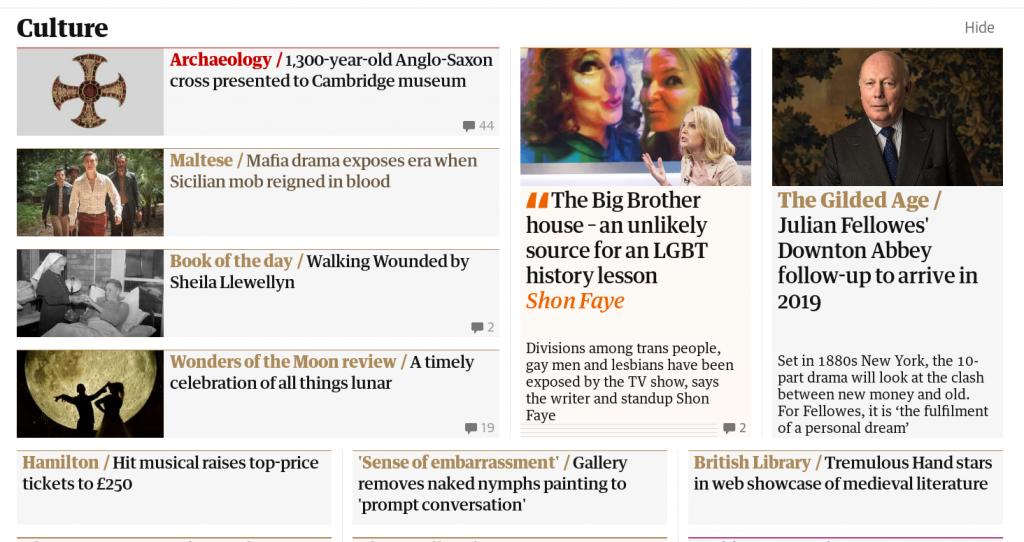 Guardian story: 'Divisions among trans people, gay men and lesbians..'