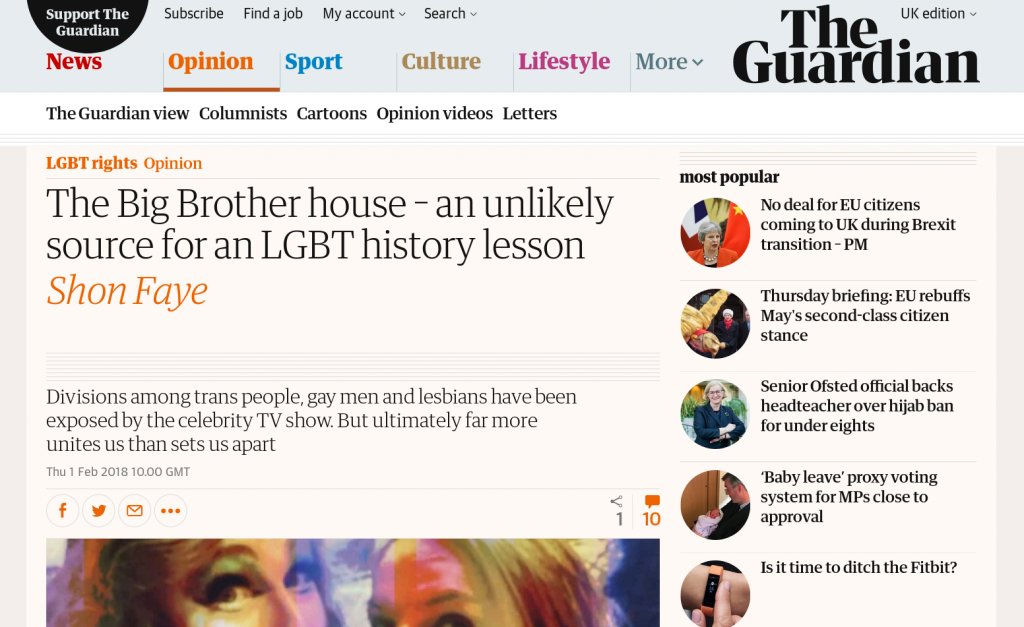 Guardian story: more text, still no 'bisexual'