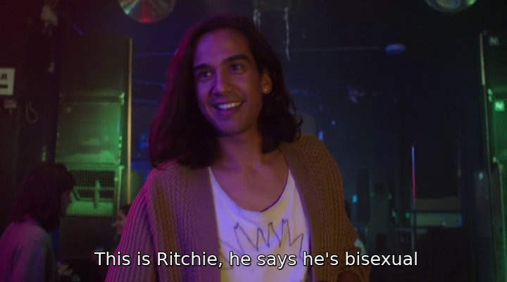 It's A Sin - Ash being told Ritchie 'says he's bisexual'