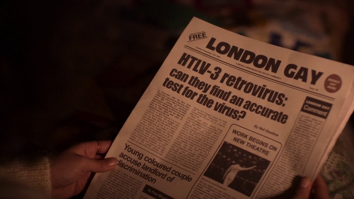 It's A Sin - 'London Gay' asking about HIV testing