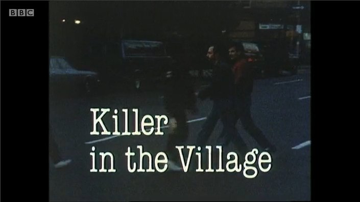 Title shot of BBC 2's Killer in the Village documentary about Aids
